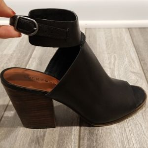 Lucky Brand Stacked Bootie Heel
